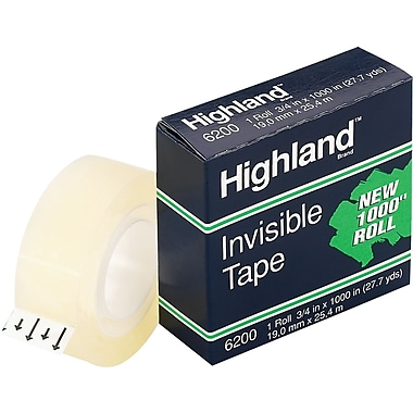 Highland Invisible Tape, Boxed