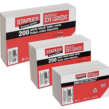Staples® Index Cards, 5