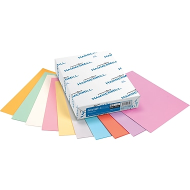 HammerMillR ForeR MP 30 Recycled Color Paper