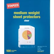 Staples®  Standard Sheet Protectors