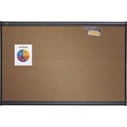 Quartet® Prestige® Coloured Cork Bulletin Boards, Graphite Frame