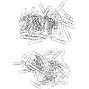 Staples® Paper Clips, Smooth, 100/Box