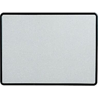 Quartet® Contour® Faux Granite Cork Bulletin Boards with Black Plastic Frame