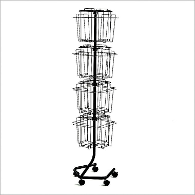 Safco Rotary Wire Literature Racks