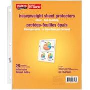 Staples® - Protège-feuilles épais transparents