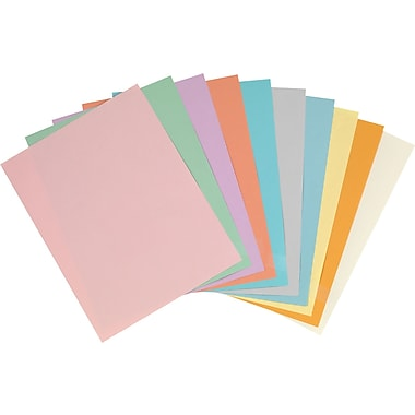 StaplesR 30 Recycled Pastel Colored Copy Paper