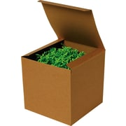 One-Piece Gift Boxes, Kraft, 100/Case