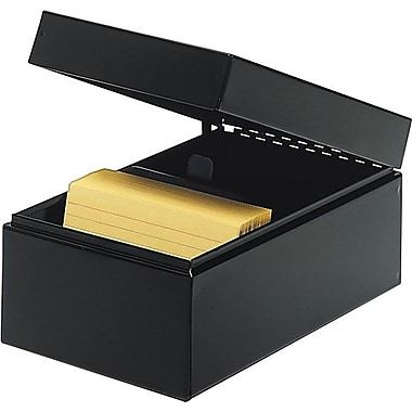 SteelMaster® Index Card Files