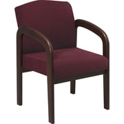 Office Star™ Espresso Finish Wood Guest Chairs