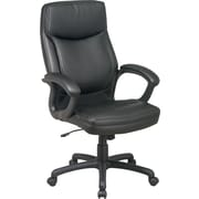 Office Star™ Bonded Leather Executive High-Back Chairs