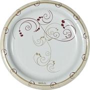 SOLO® Symphony Design Paper Plates, 125/Pack