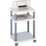 Safco® Wave Design Mobile Desk-Side or Under Desk Printer Stand