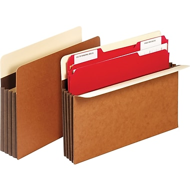 Staples® Extra Wide Heavy-Duty Expanding Pockets
