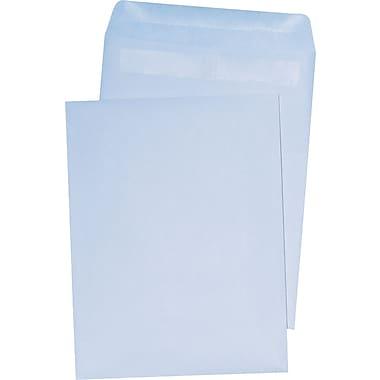 Staples® Self-Sealing Catalog Envelopes, White Wove, 100/Box