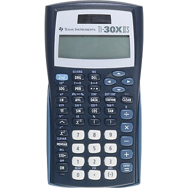 Texas Instruments® TI-30X IIS Scientific Calculator, Black