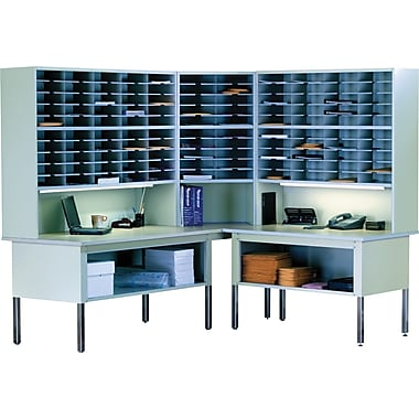Mayline Kwik-File Mailflow-To-Go™ Mailroom System and Accessories