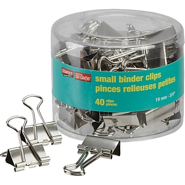 Staples® Small Binder Clips