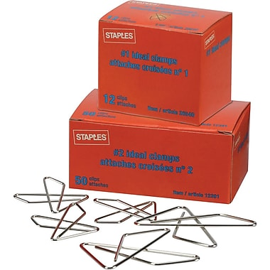 Staples® Ideal Paper Clamps