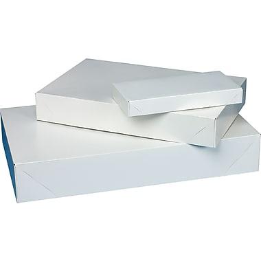 2-Piece Apparel Boxes, White
