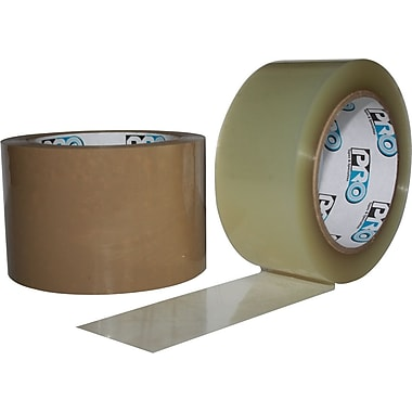 Heavy-Duty Polyester Carton-Sealing Tapes, 3.4-mil