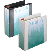 "4"" Cardinal®  XtraLife® ClearVue™ Binders with Slant-D® Rings"