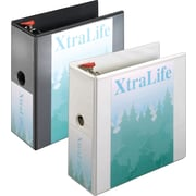 "5""  Cardinal® XtraLife® ClearVue™ Binder with Slant-D® Rings"