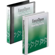 "1-1/2""  Cardinal® EasyOpen® ClearVue™ Binders with Round Rings"