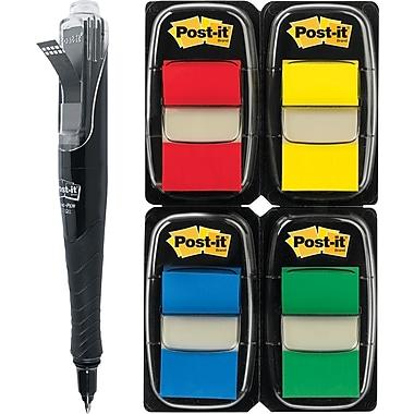 Post-it® Assorted Flag Bonus Packs with Pop-Up Dispenser