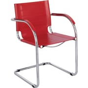 Safco Flaunt Leather Guest Chairs