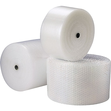 Recycled Bubble Cushioning Rolls, For lightweight Products Interleaving