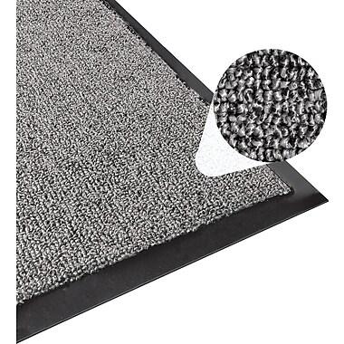Apache Mills 3-Part Entrance System Floormats, Charcoal