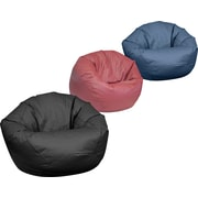 Elite Classic Large Faux Leather Bean Bag Chairs