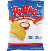 Ruffles® Potato Chips, 64 Bags/Box
