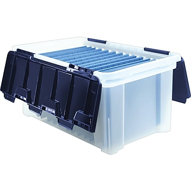Staples® Wing-Lid Totes