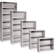 HON® Brigade™ Metal Bookcases, Gray