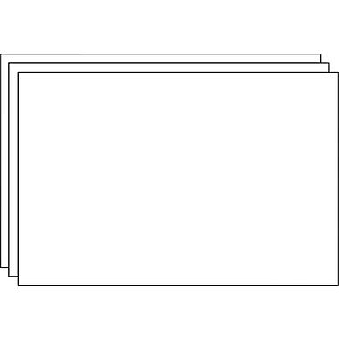 Staples® Foam Boards, 3/Pack