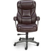 Staples® Osgood™ Bonded Leather Manager's High Back Chairs
