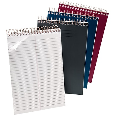 Ampad® Poly Cover Wirebound Steno Book, 6