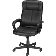 Staples® Turcotte Luxura® High Back Managers Chair, Black or Brown