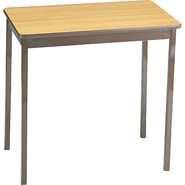 Barricks® Utility Table, Oak/Brown, 30