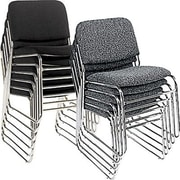 Staples® Deluxe Chrome Stacking Chairs