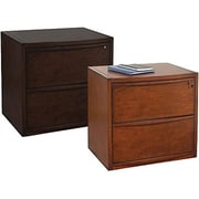 Staples® Deluxe Wood Lateral File Cabinets, 2-Drawer