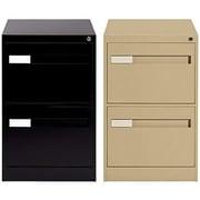 Global® - Classeurs verticaux de série Premium 2800, format légal, 2 tiroirs