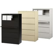 Hirsh HL10000 Series Lateral File Cabinets, 5-Drawer