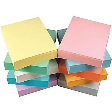Staples® - Papier à copies recyclé à 30 %, couleurs pastel, 8 1/2 po x 11 po, bte/5000