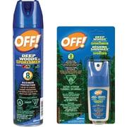 OFF!MD – Repousse-insectes Deep Woods pour les gens sportifs