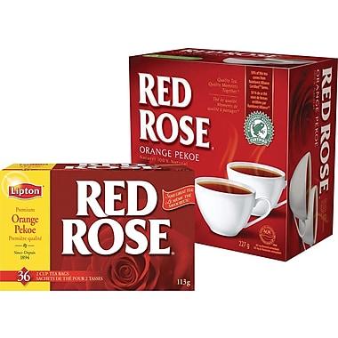 Red Rose Orange Pekoe Teas