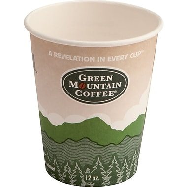 Green Mountain Coffee Roasters® Eco-Friendly Paper Hot Cups