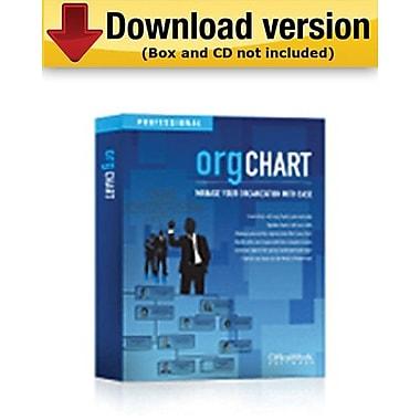 OrgChart professionnel pour 100 personnes ou plus pour Windows (1 utilisateur)