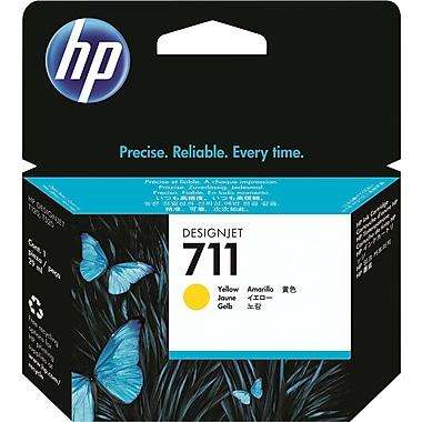 HP 711 Yellow Ink Cartridge (CZ132A), 29ml
